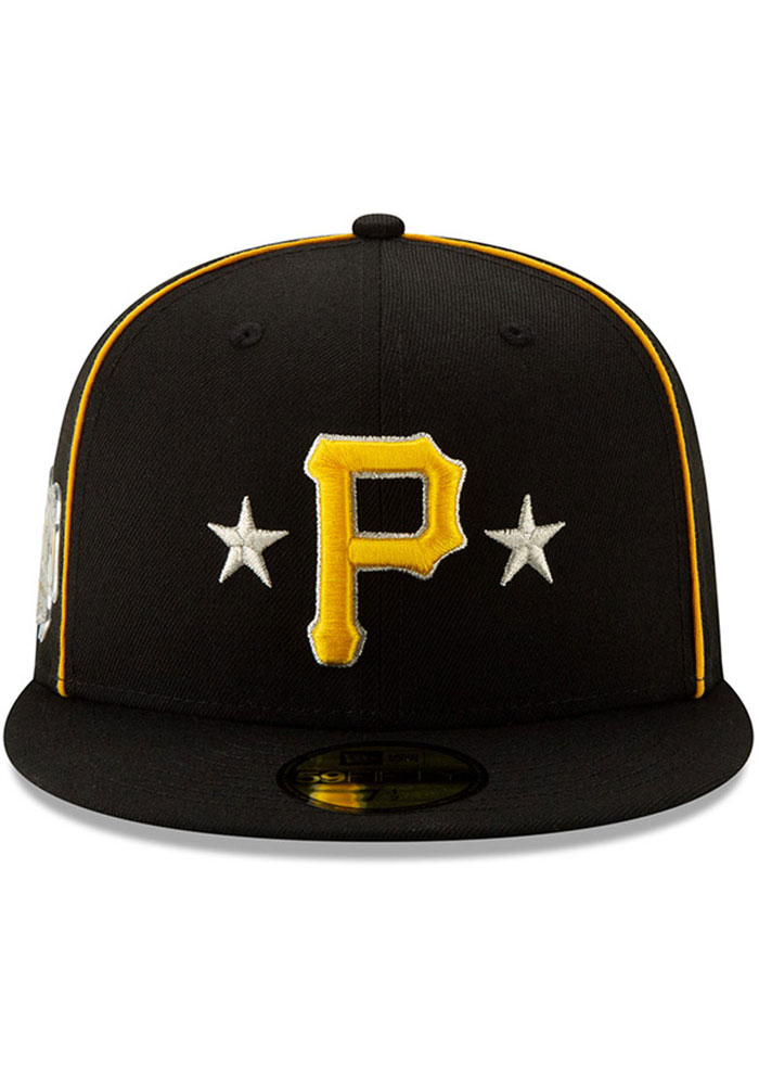 New Era Pittsburgh Pirates Mens Black 2019 All Star 59FIFTY Fitted Hat - Image 3