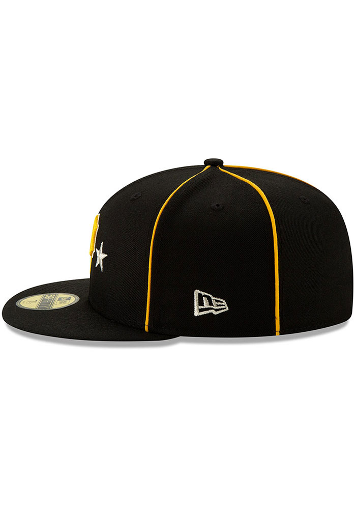 New Era Pittsburgh Pirates Mens Black 2019 All Star 59FIFTY Fitted Hat - Image 4