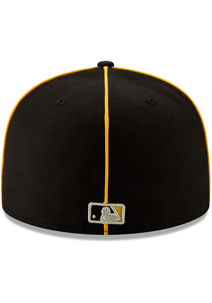 New Era Pittsburgh Pirates Mens Black 2019 All Star 59FIFTY Fitted Hat - Image 5