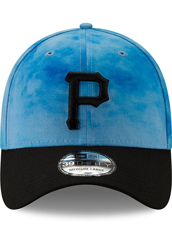 New Era Pittsburgh Pirates Mens Blue 2019 Father's Day 39THIRTY Flex Hat - Image 3