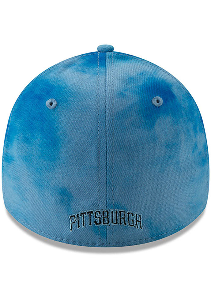 New Era Pittsburgh Pirates Mens Blue 2019 Father's Day 39THIRTY Flex Hat - Image 5