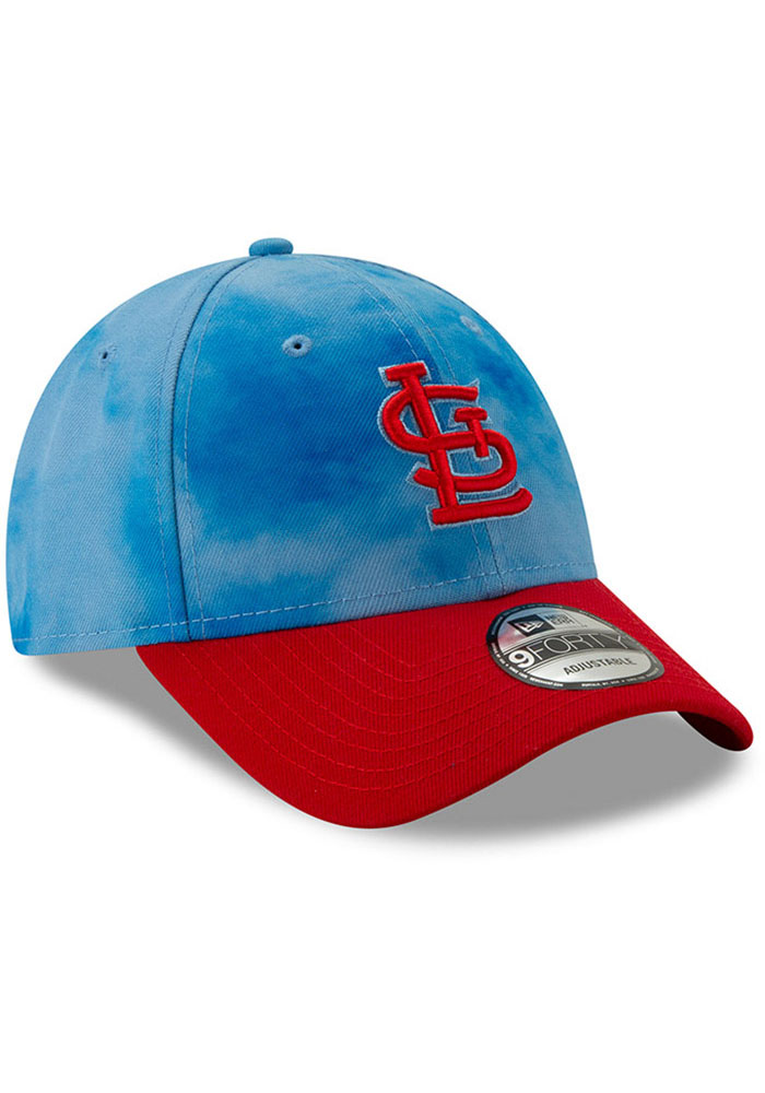 New Era St Louis Cardinals 2019 Father's Day 9FORTY Adjustable Hat - Blue - Image 2