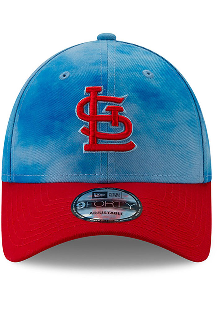 New Era St Louis Cardinals 2019 Father's Day 9FORTY Adjustable Hat - Blue - Image 3
