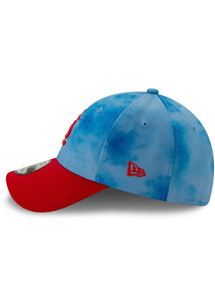 New Era St Louis Cardinals 2019 Father's Day 9FORTY Adjustable Hat - Blue - Image 4