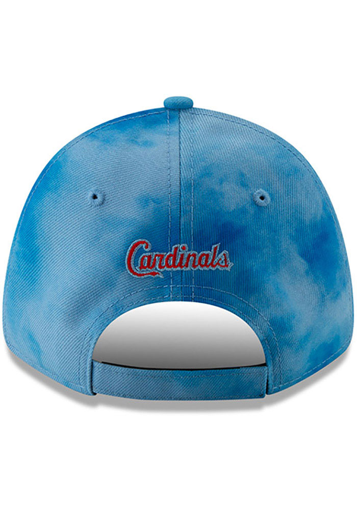 New Era St Louis Cardinals 2019 Father's Day 9FORTY Adjustable Hat - Blue - Image 5