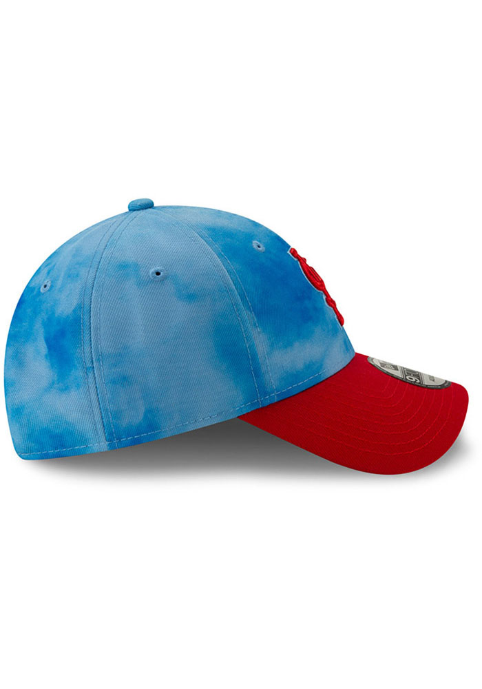 New Era St Louis Cardinals 2019 Father's Day 9FORTY Adjustable Hat - Blue - Image 6