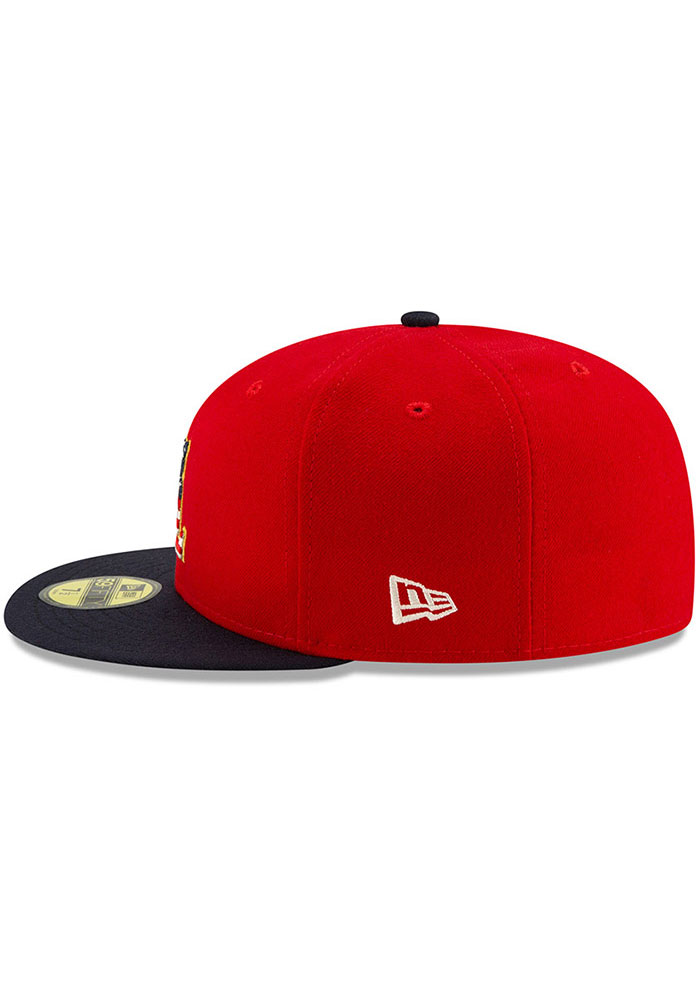 New Era St Louis Cardinals Mens Navy Blue 2019 4th of July 59FIFTY Fitted Hat - Image 4