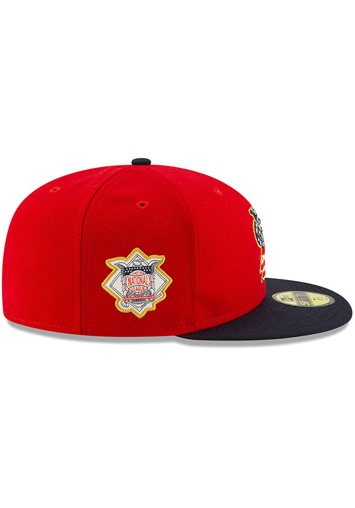 New Era St Louis Cardinals Mens Navy Blue 2019 4th of July 59FIFTY Fitted Hat - Image 6
