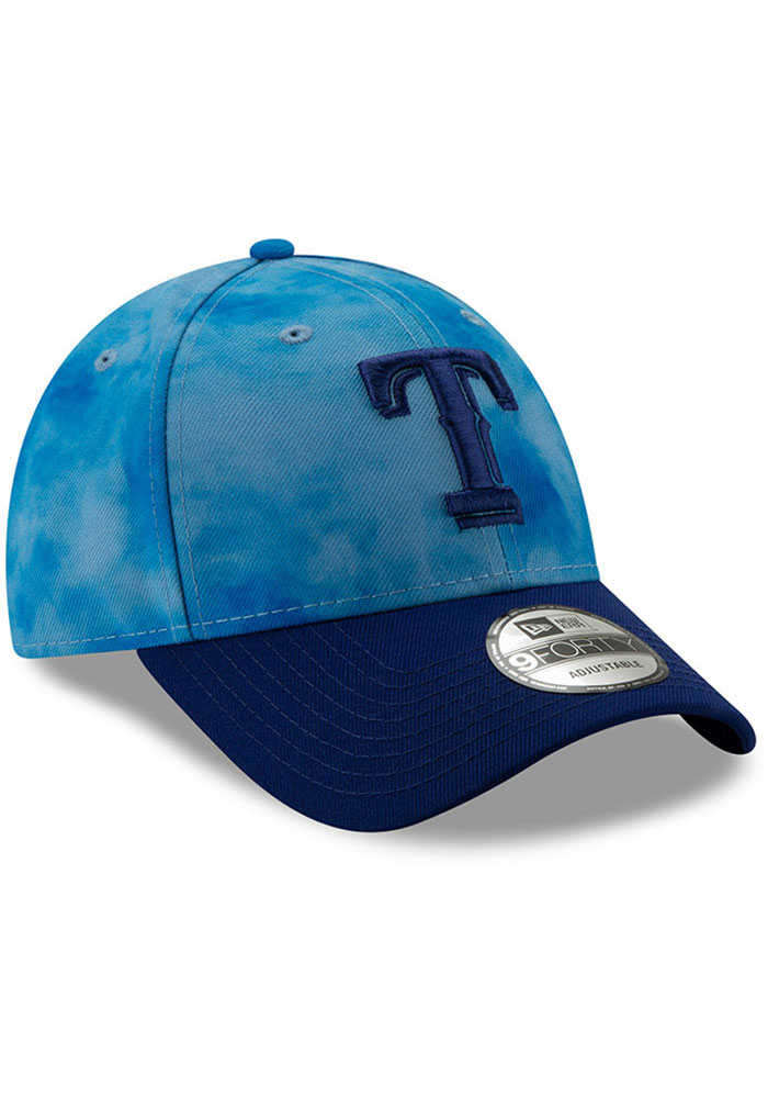 New Era Texas Rangers 2019 Fathers Day 9FORTY Adjustable Hat - Blue - Image 2