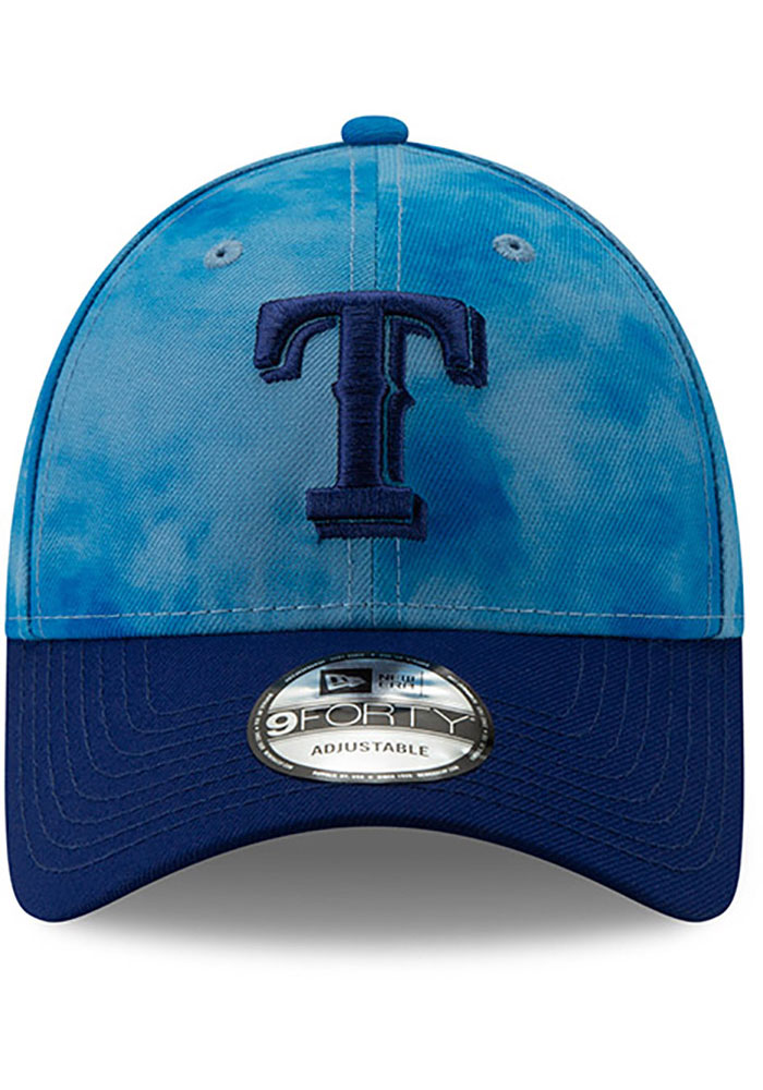New Era Texas Rangers 2019 Fathers Day 9FORTY Adjustable Hat - Blue - Image 3