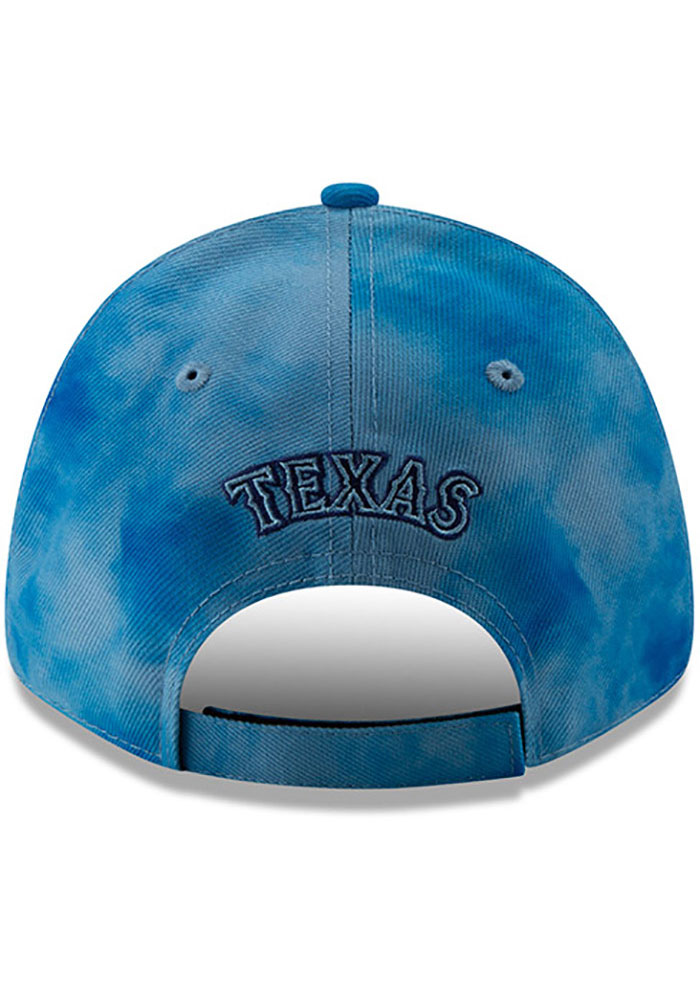 New Era Texas Rangers 2019 Fathers Day 9FORTY Adjustable Hat - Blue - Image 5