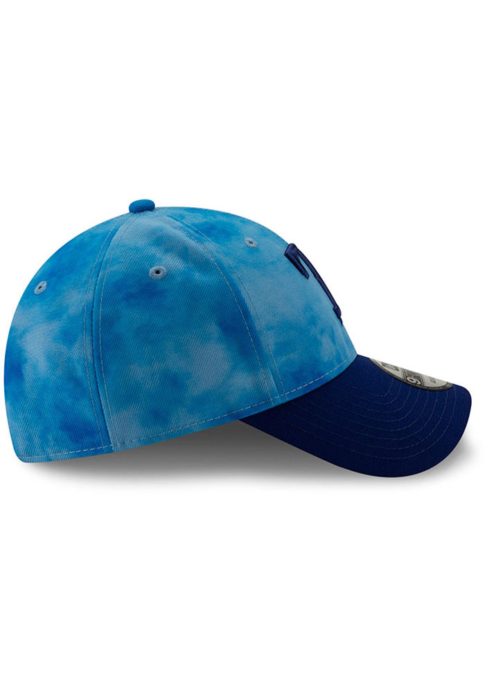New Era Texas Rangers 2019 Fathers Day 9FORTY Adjustable Hat - Blue - Image 6
