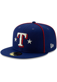 Texas Rangers New Era Blue 2019 All Star 59FIFTY Fitted Hat