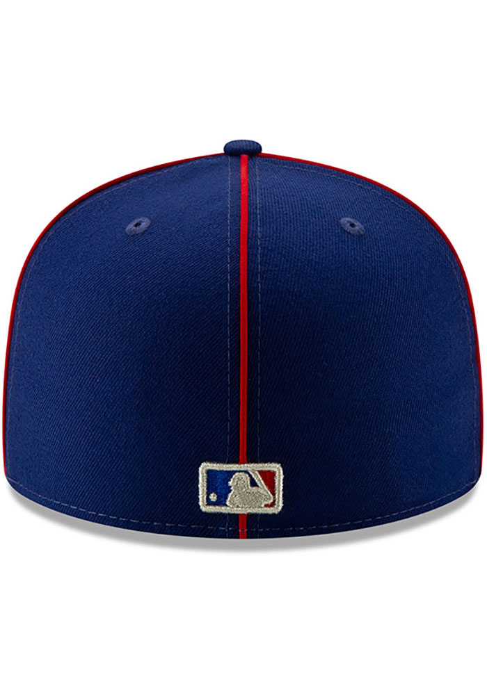 New Era Texas Rangers Mens Blue 2019 All Star 59FIFTY Fitted Hat - Image 5