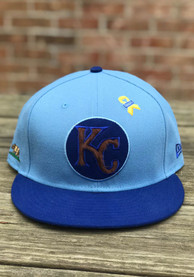 ac7c6ea05 Danny Duffy New Era Kansas City Royals Light Blue Player Designed 59FIFTY  Fitted Hat