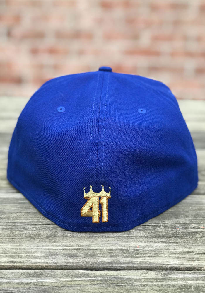 Danny Duffy New Era Kansas City Royals Mens Light Blue Player Designed 59FIFTY Fitted Hat - Image 2