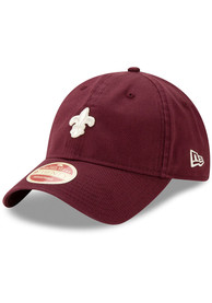 St Louis Browns New Era Heritage Micro 9TWENTY Adjustable Hat - Maroon