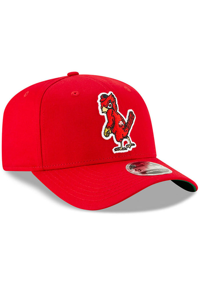 New Era St Louis Cardinals Brown Team Stretch Coop 9FIFTY Mens Snapback Hat - Image 2