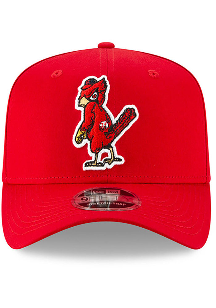 New Era St Louis Cardinals Brown Team Stretch Coop 9FIFTY Mens Snapback Hat - Image 3