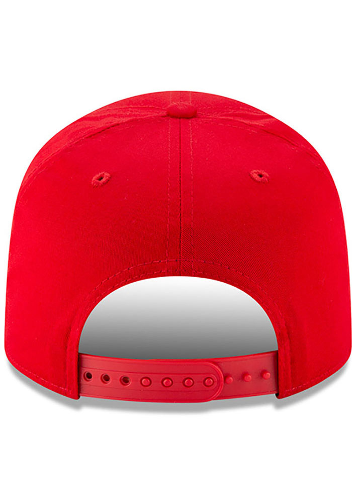 New Era St Louis Cardinals Brown Team Stretch Coop 9FIFTY Mens Snapback Hat - Image 5