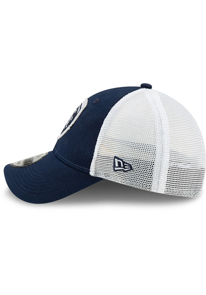 New Era Sporting Kansas City Navy Blue JR Team Truckered 9TWENTY Youth Adjustable Hat - Image 4