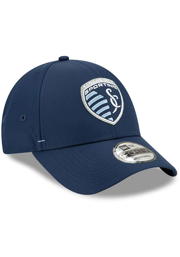 New Era Sporting Kansas City Dash 9FORTY Adjustable Hat - Navy Blue - Image 2