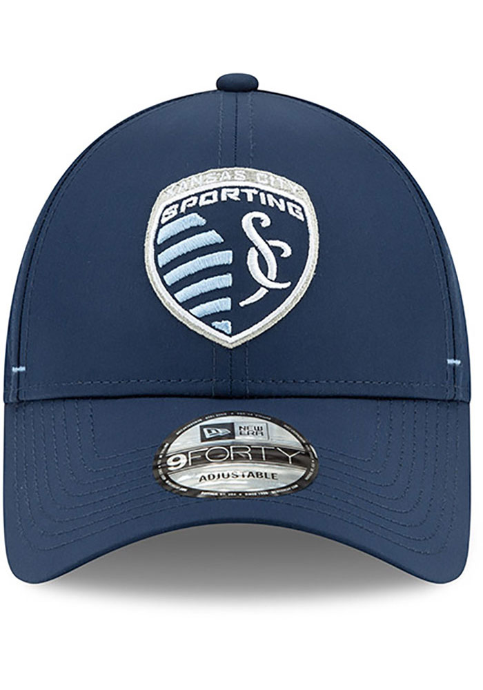 New Era Sporting Kansas City Dash 9FORTY Adjustable Hat - Navy Blue - Image 3