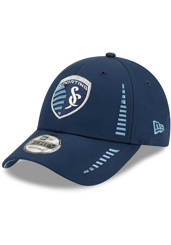 Sporting Kansas City New Era Speed 9FORTY Adjustable Hat - Navy Blue