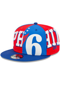 Philadelphia 76ers New Era Logo Wrap 2 9FIFTY Snapback - Blue