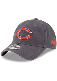 New Era Chicago Bears Grey JR Core Classic 9TWENTY Youth Adjustable Hat
