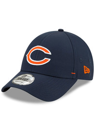 Chicago Bears New Era Dash 9FORTY Adjustable Hat - Navy Blue