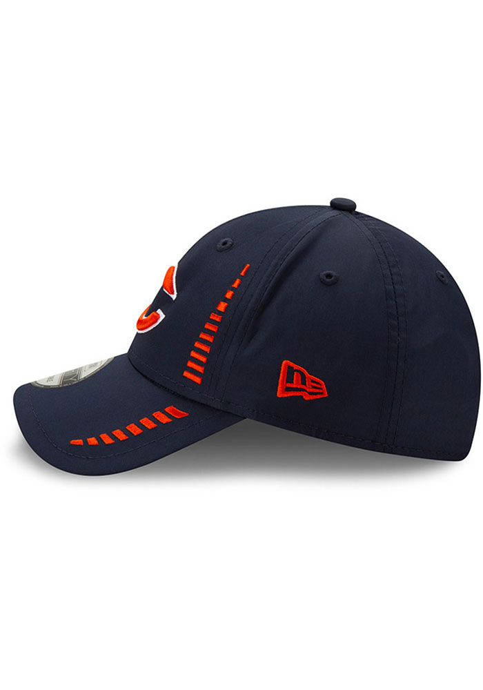 New Era Chicago Bears Speed 9FORTY Adjustable Hat - Navy Blue - Image 3