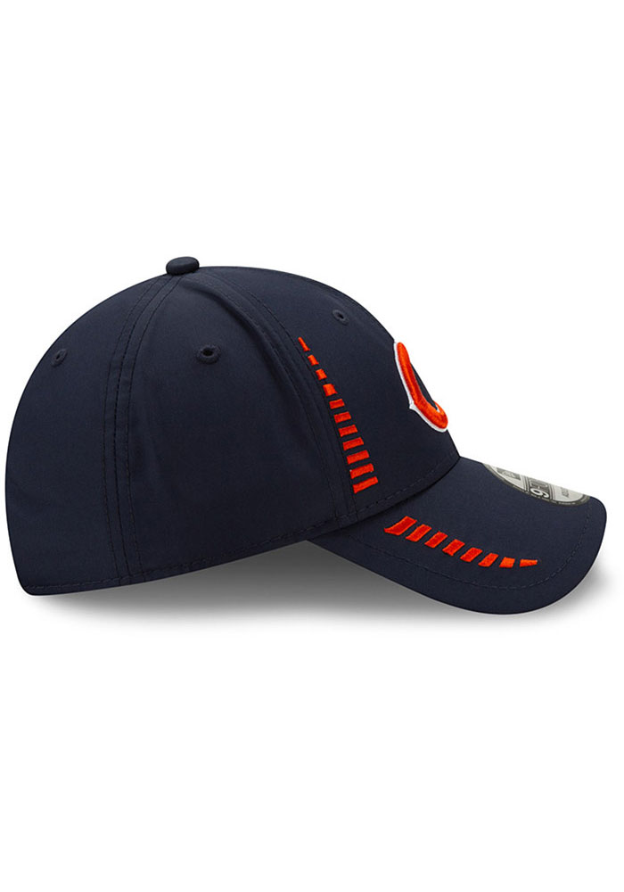 New Era Chicago Bears Speed 9FORTY Adjustable Hat - Navy Blue - Image 4