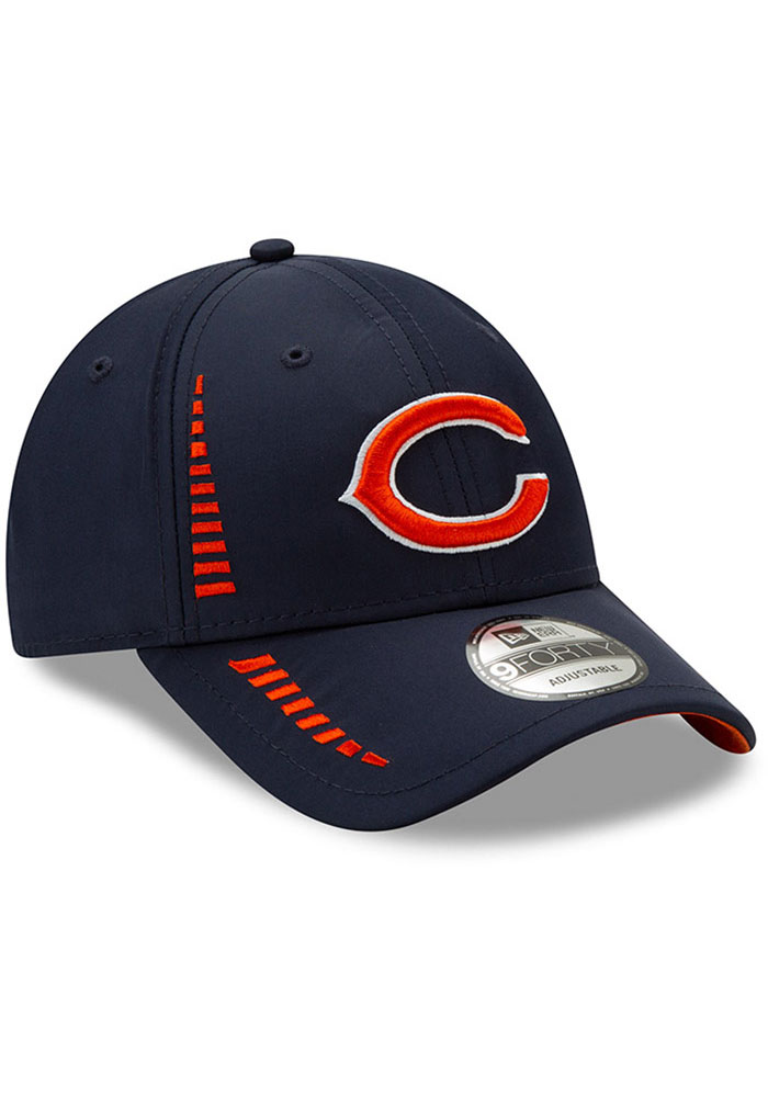 New Era Chicago Bears Speed 9FORTY Adjustable Hat - Navy Blue - Image 5