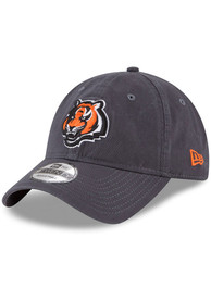 Cincinnati Bengals Toddler New Era JR Core Classic 9TWENTY Adjustable - Grey