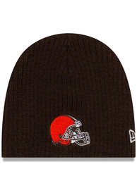 New Era Cleveland Browns My 1st Baby Knit Hat - Brown