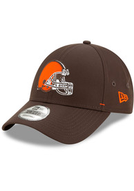 Cleveland Browns New Era Dash 9FORTY Adjustable Hat - Brown