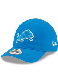 New Era Detroit Lions Baby My 1st 9TWENTY Adjustable Hat - Blue