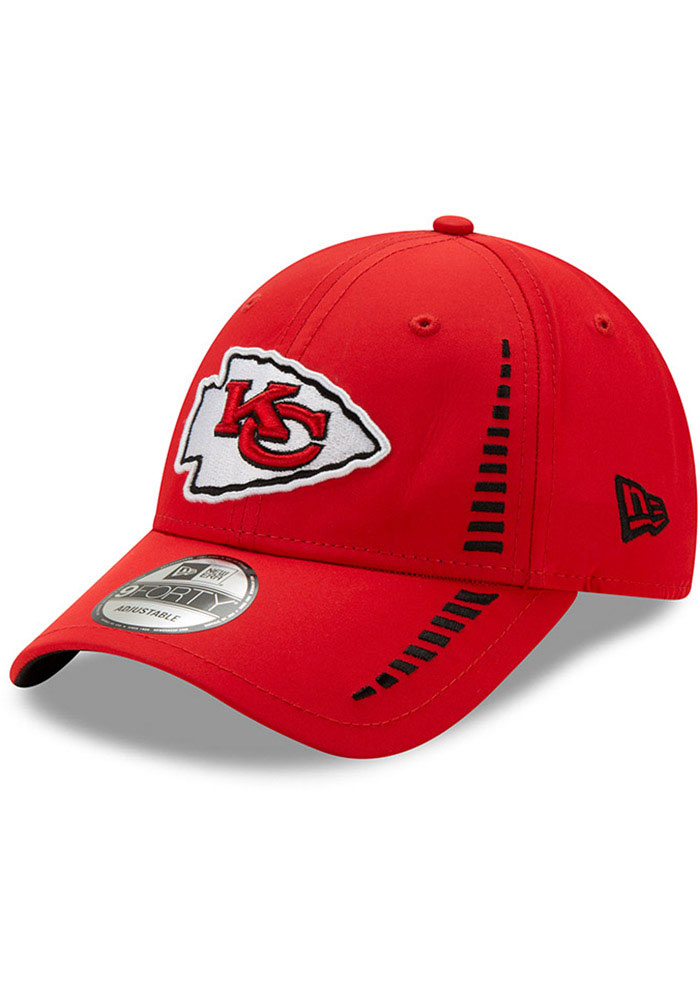 New Era Kansas City Chiefs Speed 9FORTY Adjustable Hat - Red - Image 1