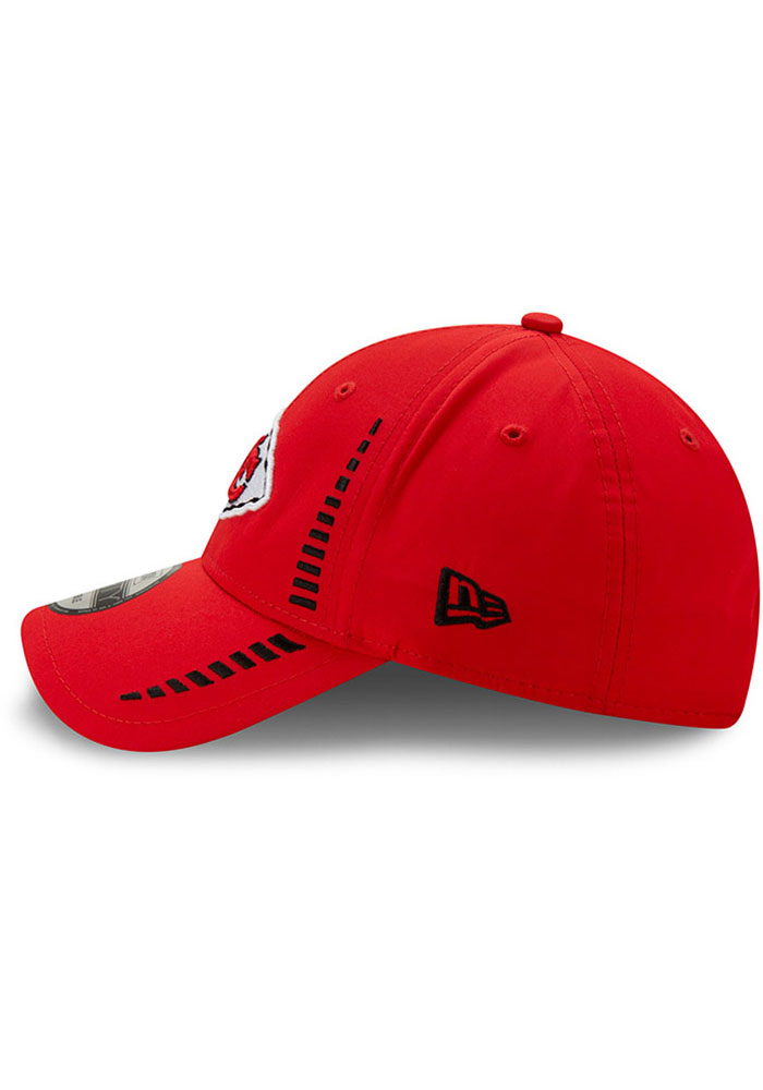 New Era Kansas City Chiefs Speed 9FORTY Adjustable Hat - Red - Image 4