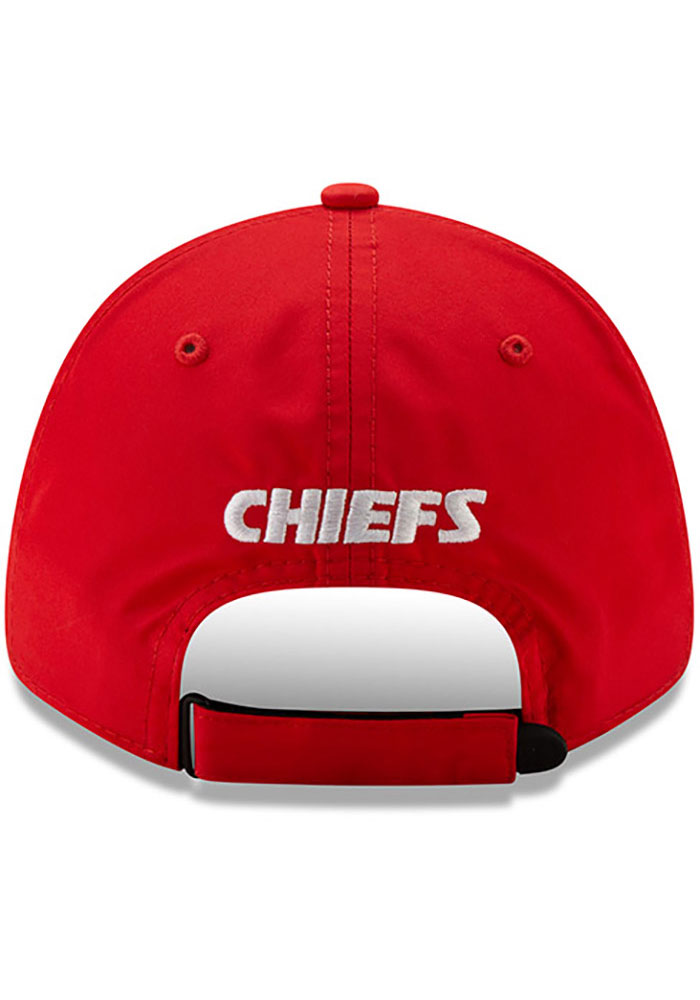 New Era Kansas City Chiefs Speed 9FORTY Adjustable Hat - Red - Image 5