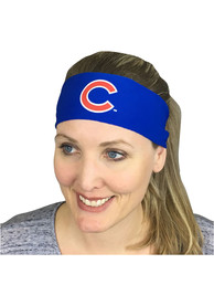 Chicago Cubs 3 inch Womens Headband
