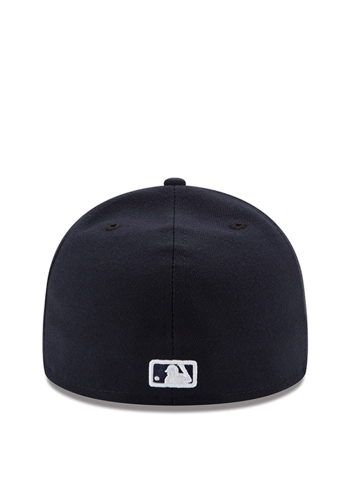 New Era Detroit Tigers Mens Navy Blue Home AC 59FIFTY Fitted Hat - Image 4