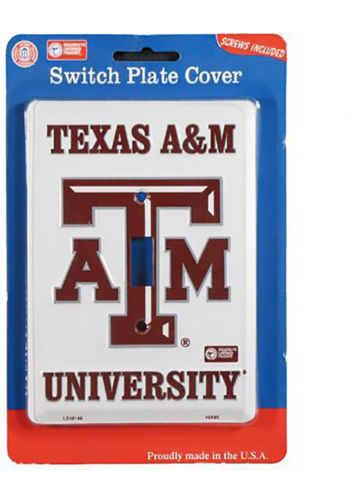 Texas A&M Aggies Single Light Switch Cover - Image 1