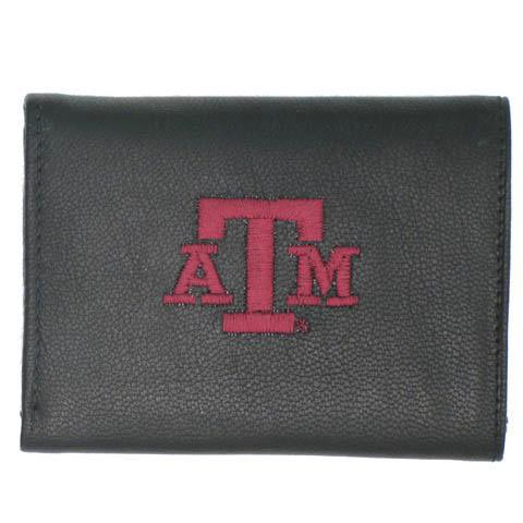 Texas A&M Aggies Mens Trifold Wallet - Image 1
