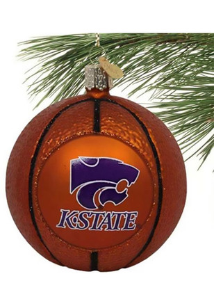 K-State Wildcats Basketball Ornament