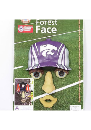 K-State Wildcats Purple Forest Face