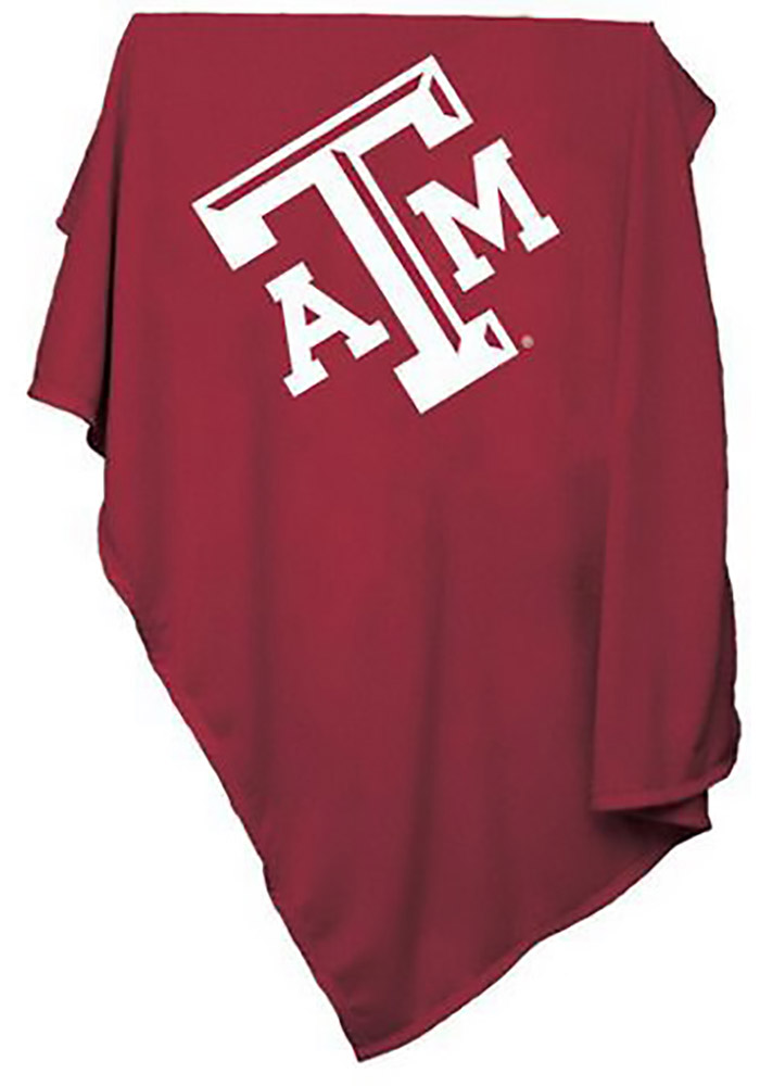 Texas A&M Aggies Team Logo Sweatshirt Blanket - Image 1