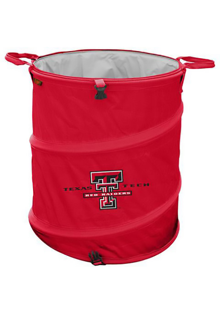 Texas Tech Red Raiders Trash Can Cooler - Image 1