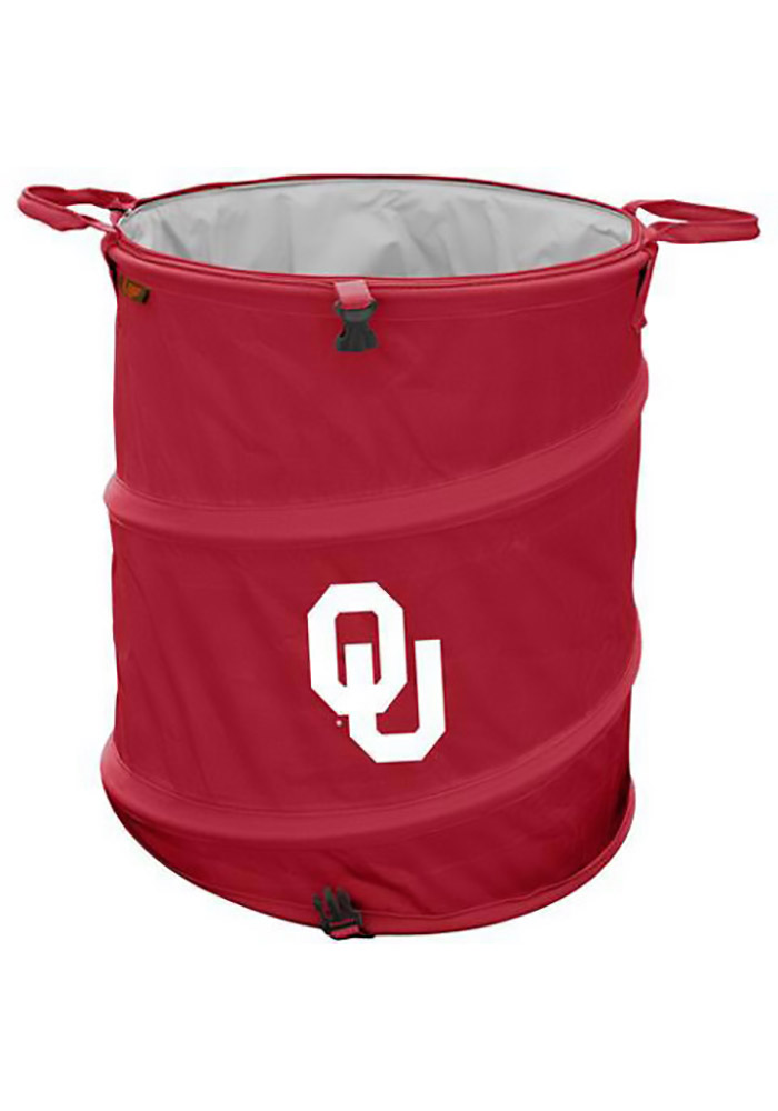 Oklahoma Sooners Trash Can Cooler - Image 1